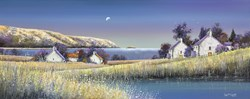 The Coming Dawn by John Mckinstry - Glazed Original Painting on Stretched Canvas sized 39x16 inches. Available from Whitewall Galleries